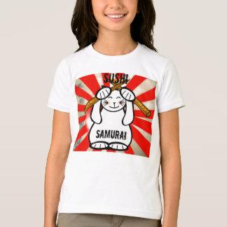 Sushi Maneki Neko ? Samurai T-Shirt