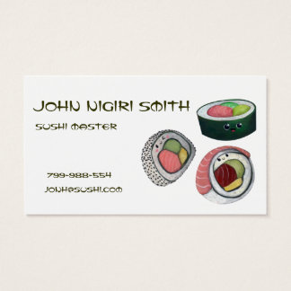 Sushi Master Business Card