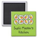 Sushi Master's Magnet
