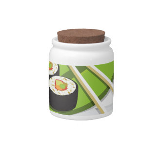 Sushi Meal Candy Jars