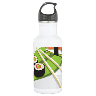 Sushi Meal 18oz Water Bottle
