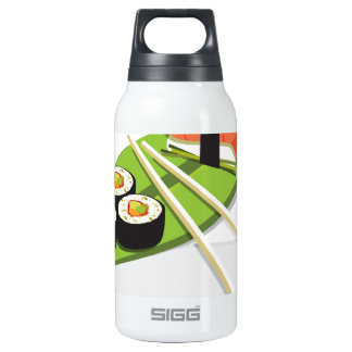 Sushi Meal 10 Oz Insulated SIGG Thermos Water Bottle