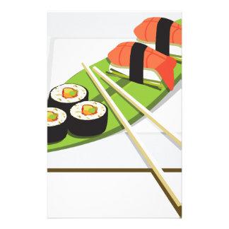 Sushi Meal Stationery