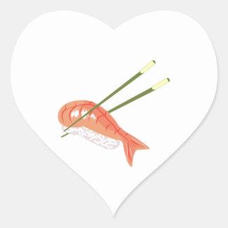 Sushi Meal Heart Sticker