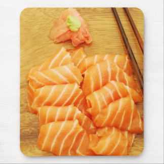 Sushi Meal with Salmon Mousepad