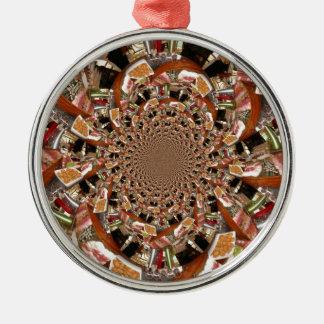 Sushi Metal Ornament