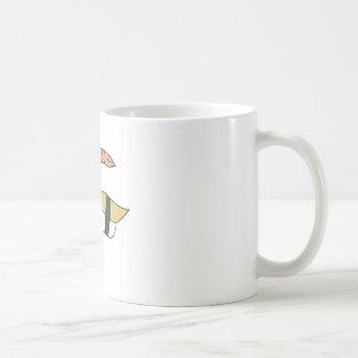 Sushi Classic White Coffee Mug