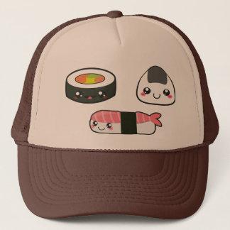 Sushi mushi trucker hat