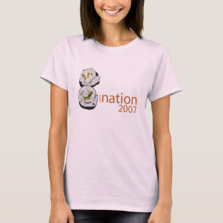 Sushi Nation T-shirt - Pink