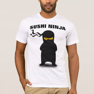 SUSHI NINJA funny T-shirts