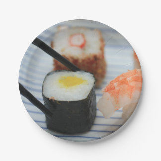 Sushi! Paper Plate