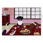Sushi Party Labradors Card