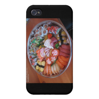 Sushi Party Plate Gifts & Cards iPhone 4 Cover