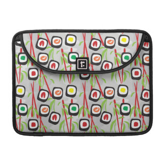Sushi Pattern MacBook Pro Sleeves