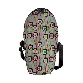 Sushi Pattern Messenger Bag
