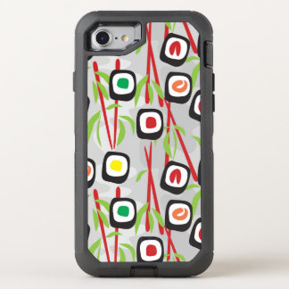 Sushi Pattern OtterBox Defender iPhone 8/7 Case