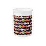 Sushi pattern pitchers