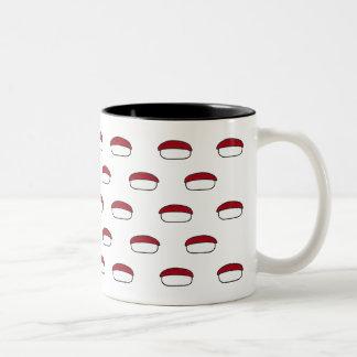 Sushi Pattern - Tuna Mug