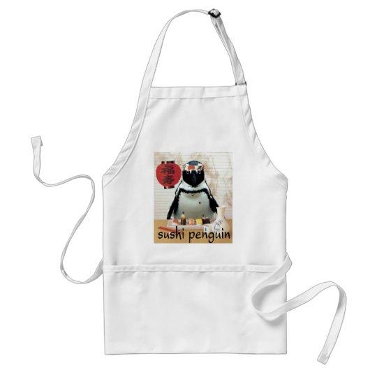 sushi penguin adult apron