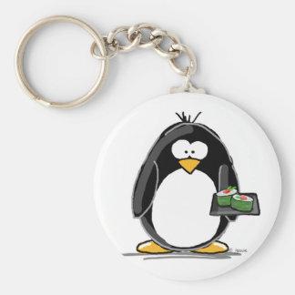 Sushi Penguin Keychain