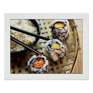 Sushi Photograph Poster/print 24x19