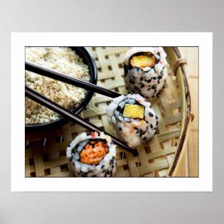 Sushi Photograph Poster/print 24x19 Poster