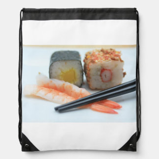 Sushi! Drawstring Backpack