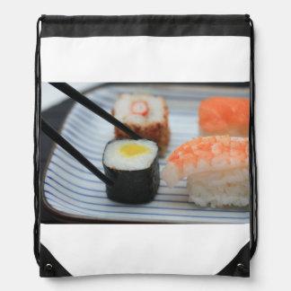 Sushi! Drawstring Bag