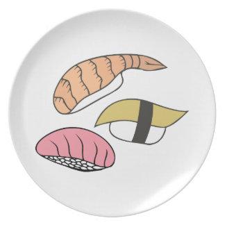 Sushi Plato De Cena