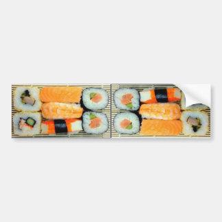Sushi Platter Bumper Sticker