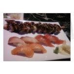 Sushi Platter Greeting Cards