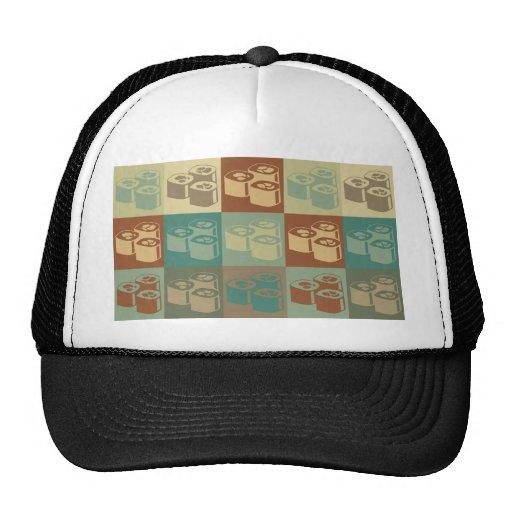 Sushi Pop Art Mesh Hat