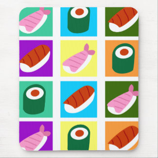 Sushi Pop Art Mouse Pad
