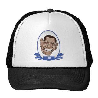 Sushi presidencial de Obama del voto Gorras De Camionero