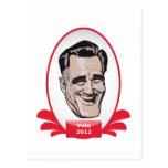 Sushi presidencial de Romney del voto Postales