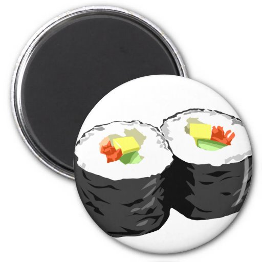Sushi Refrigerator Magnet