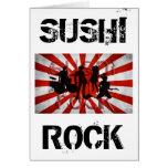 SUSHI ROCK GREETING CARD