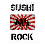 SUSHI ROCK POSTCARD