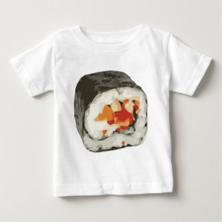 Sushi Roll Japanese Food Lover Baby T-Shirt