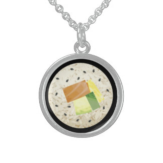 Sushi Roll Necklace pendant