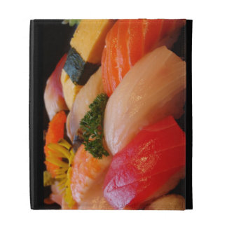 Sushi roll sashimi top foodie chef hipster photo iPad folio cases