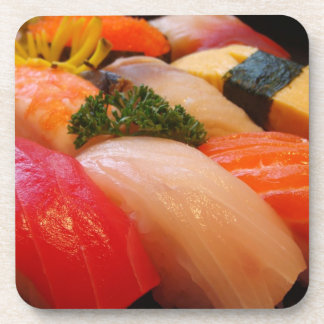 Sushi roll sashimi top foodie chef hipster photo drink coaster