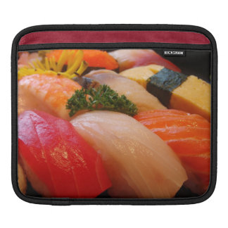 Sushi roll sashimi top foodie chef hipster photo iPad sleeves