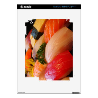 Sushi roll sashimi top foodie chef hipster photo decal for iPad 3