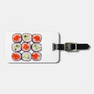Sushi Rolls Japanese Food Template Luggage Tag
