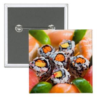 Sushi & Rolls Pinback Button