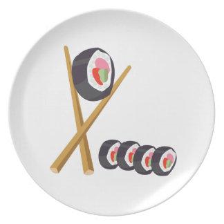 Sushi Rolls Plato