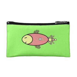 Sushi Salmon Makeup Bag