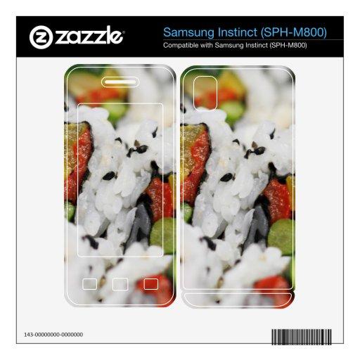 Sushi Samsung Instinct Calcomanías