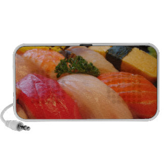 Sushi sashimi photo Doodle speaker